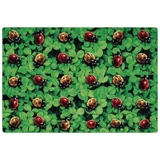 Real Ladybug Seating 8' x 12' Rectangle Pixel Perfect Carpet