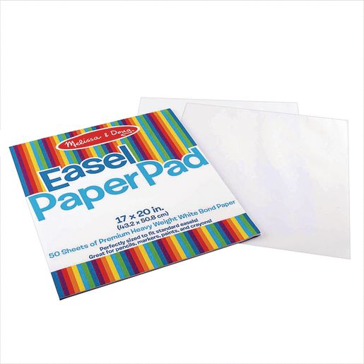 "Easel Drawing Pads, Set of 2, 17"" x 20"""