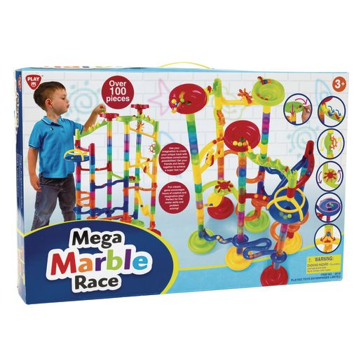 STEM Mega Marble Race 101 Pieces