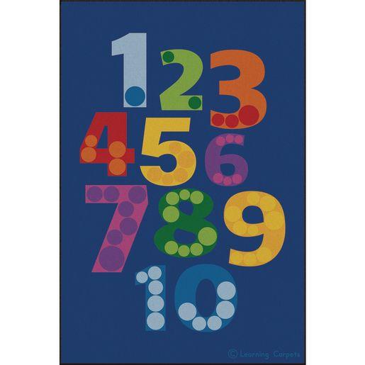 Number Pile Premium Carpet - 8' x 12' Rectangle