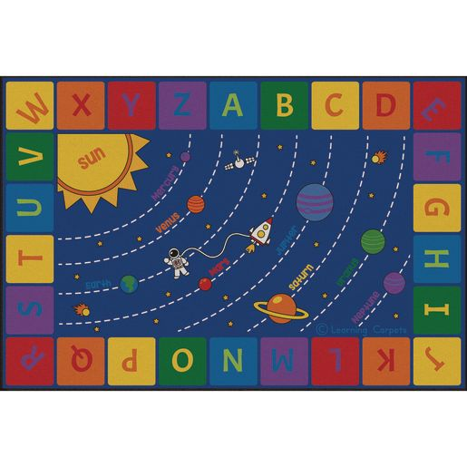 Solar System Premium Carpet - 8' x 12' Rectangle