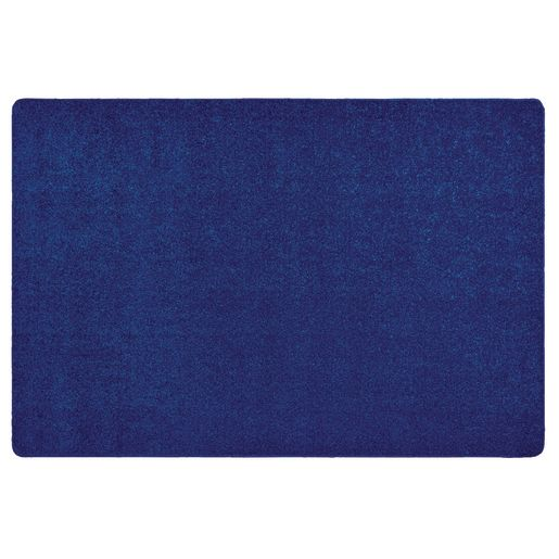 Image of MyPerfectClassroom Premium Solid Carpet 4' x 6' Blue