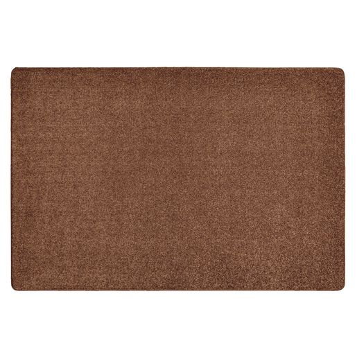 Image of MyPerfectClassroom Premium Solid Carpet 4' x 6' Sand