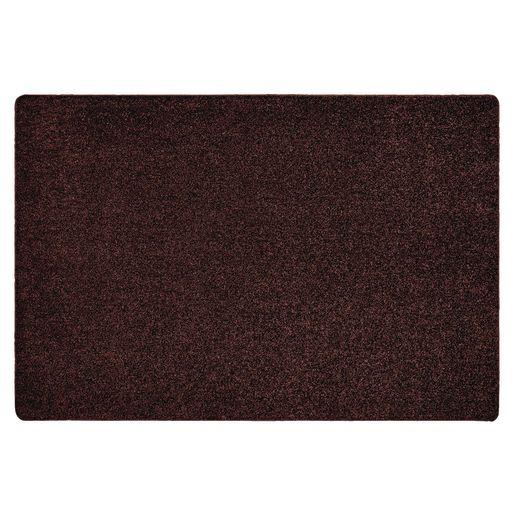 Image of MyPerfectClassroom Premium Solid Carpet 4' x 6' Brown