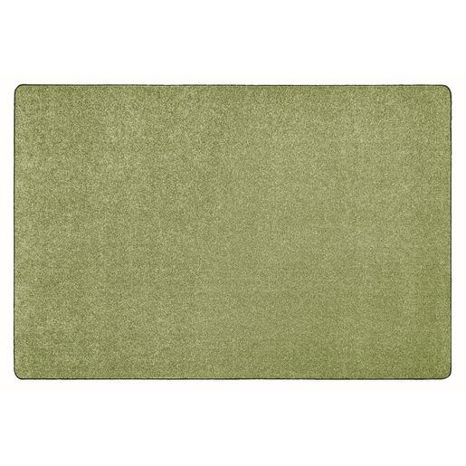 Image of MyPerfectClassroom Premium Solid Carpet 4' x 6' Light Green