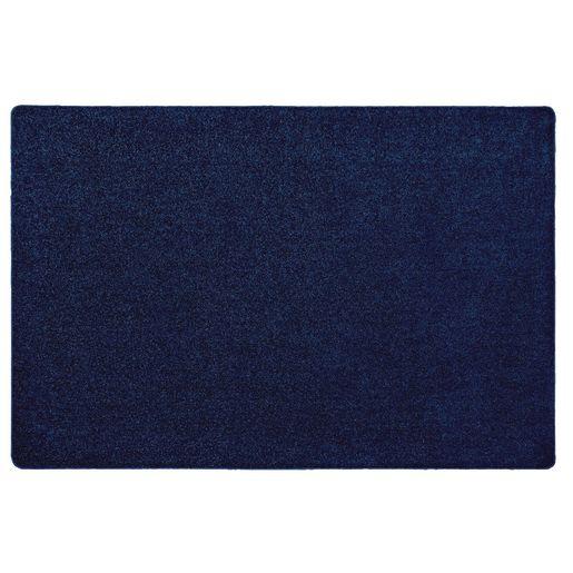 MyPerfectClassroom® Premium Solid Carpet 6' x 9' Dark Blue