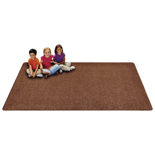 MyPerfectClassroom® Premium Solid Carpet 6' x 9' Sand