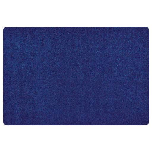 Image of MyPerfectClassroom Premium Solid Carpet - 8'4 x 12' Blue
