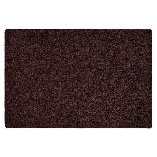 Image of MyPerfectClassroom Premium Solid Carpet - 8' x 12' Brown
