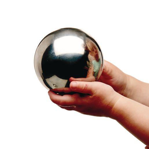 Sensory Reflective Silver Balls Set of 4