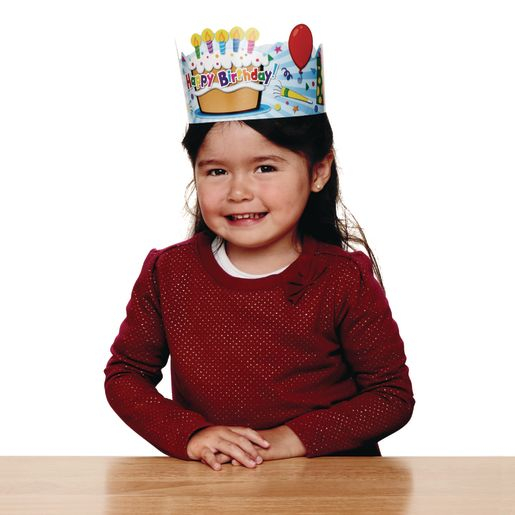 Birthday Crowns - Set of 30