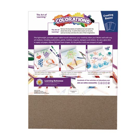 Colorations Drawing Pads, Set of 3, 9 inches x 12 inches_3