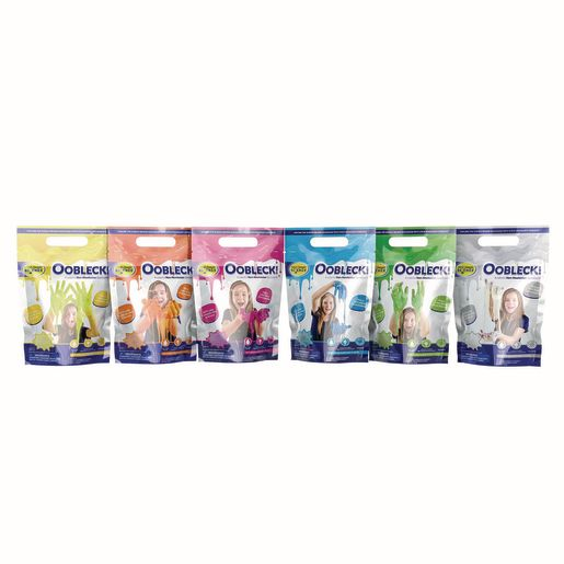 Steve Spangler Science Oobleck - 6 Pack (1 of each color)