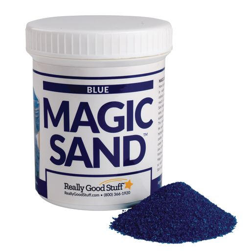 Steve Spangler Science Magic Sand Blue