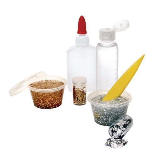 Slime Kit, Colorations® Gold & Silver Slime Kit