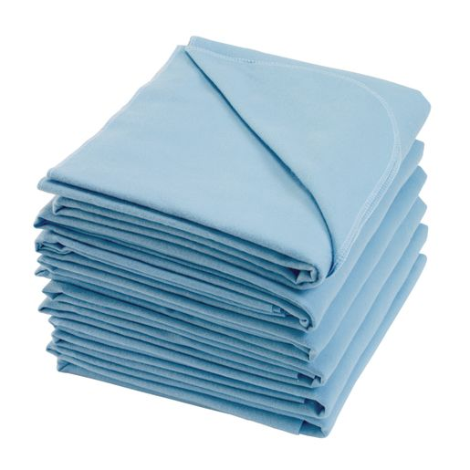 Soft Cotton Blanket - Blue