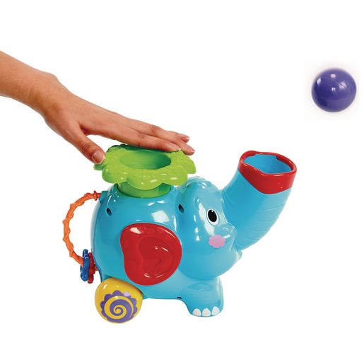 Pop and Hoop Musical Rolling Elephant