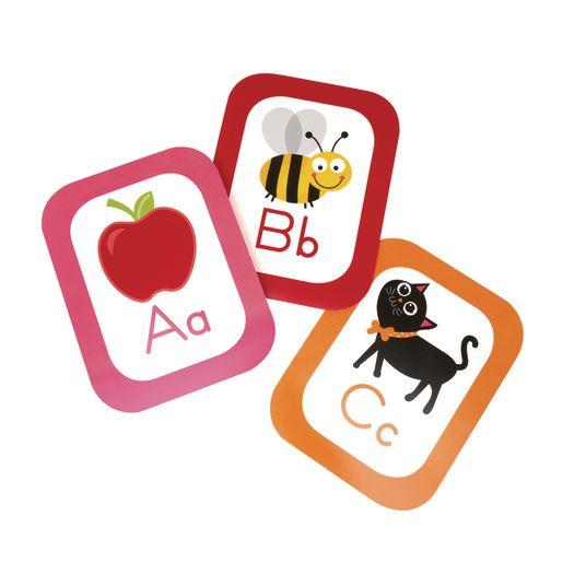 Rainbow Alphabet Cards Bulletin Board Set Grade Pre-K to 2 - 27 Pieces