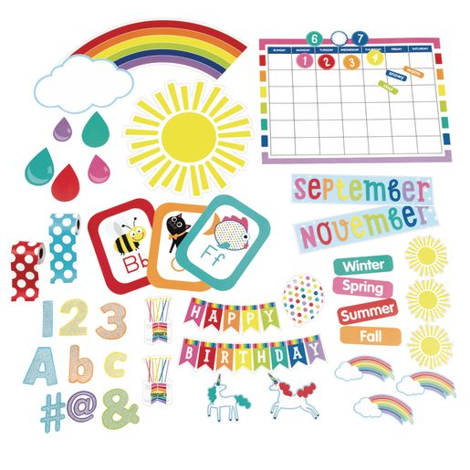 Hello Sunshine! Complete Classroom Decor Set - 416 Pieces