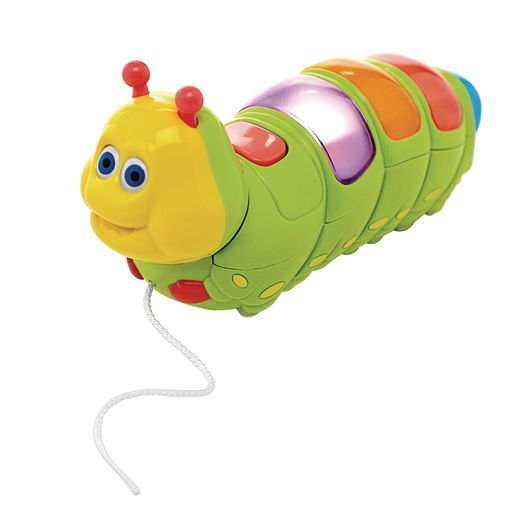 Lights & Sounds Pull Along Musical Caterpillar