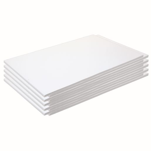 "Construction Paper, Bright White, 12"" x 18"", 500 Sheets"