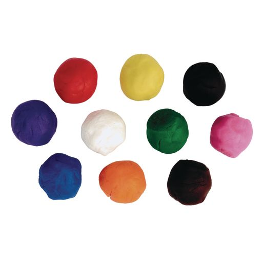 Colorations® Classic Dough, Set of 30, 10 Colors, 2 oz pots