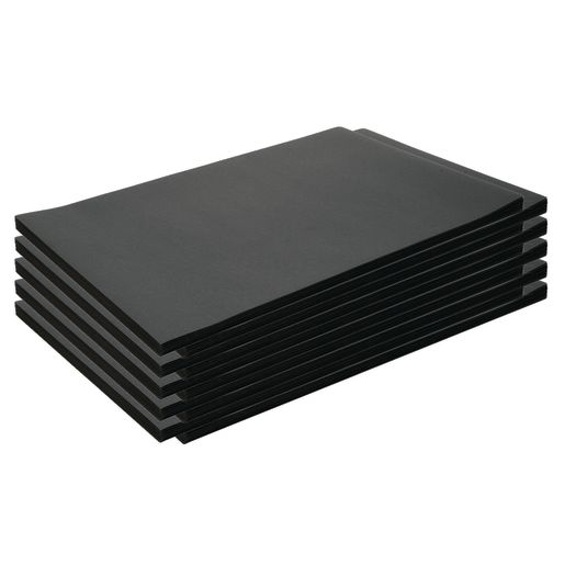 "Construction Paper, Black, 12"" x 18"", 500 Sheets"