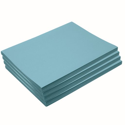 "Heavyweight Sky Blue Construction Paper, 9"" x 12"", 200 Sheets"