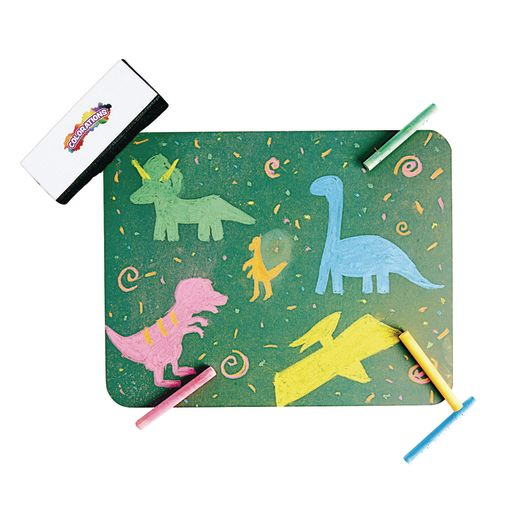 Colorations® Chalk Board Boards, Erasers, Chalk for 10 Students