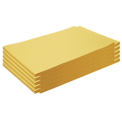 "Construction Paper, Yellow, 12"" x 18"", 500 Sheets"