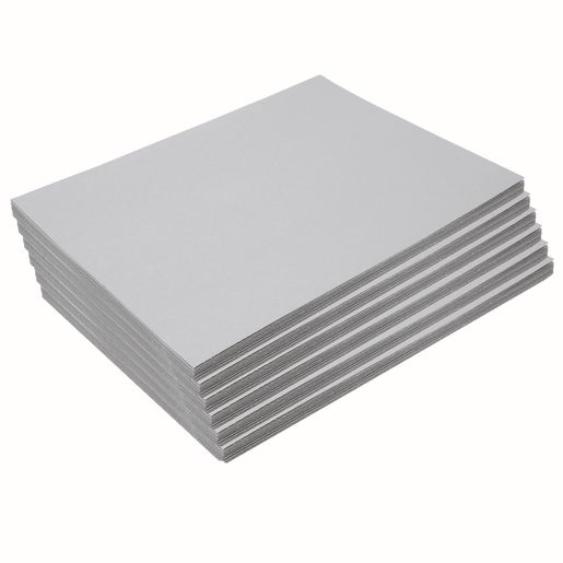 "Heavyweight Gray Construction Paper, 9"" x 12"", 300 Sheets"