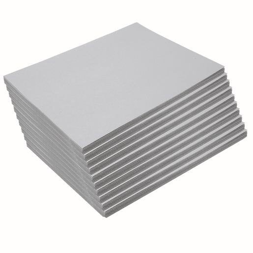 "Heavyweight Gray Construction Paper, 9"" x 12"", 500 Sheets"