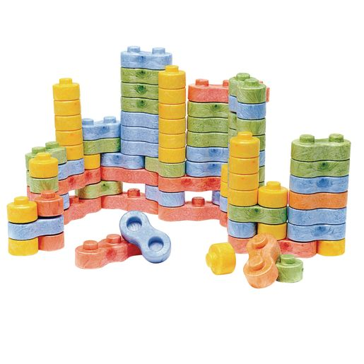8BLOCK Construction Blocks - Set of 80