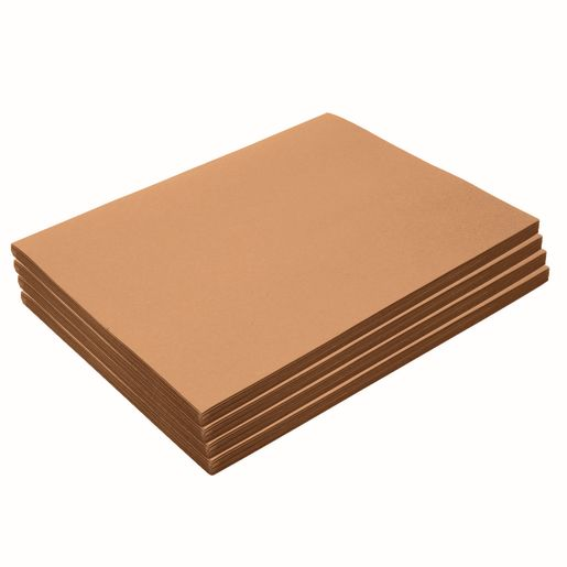"Heavyweight Light Brown Construction Paper, 9"" x 12"", 200 Sheets"