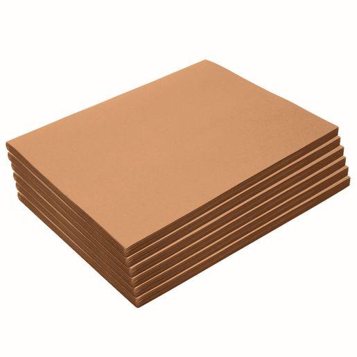 "Heavyweight Light Brown Construction Paper, 9"" x 12"", 300 Sheets"