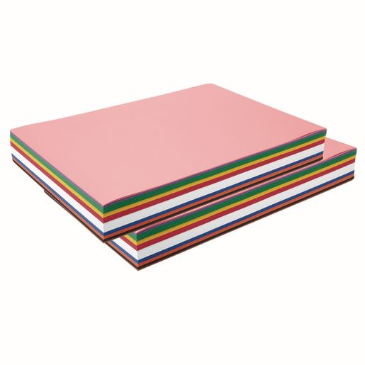 "Colorations® 12"" x 18"" Construction Paper Smart Pack, 600 Sheets"