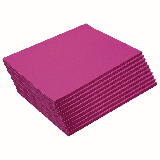 "Heavyweight Magenta Construction Paper, 9"" x 12"", 500 Sheets"