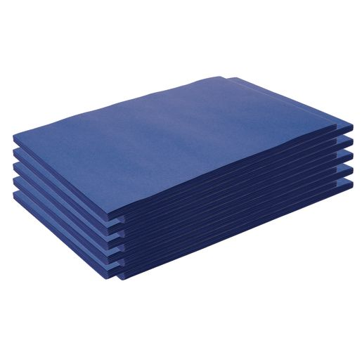 "Construction Paper, Dark Blue, 12"" x 18"", 500 Sheets"