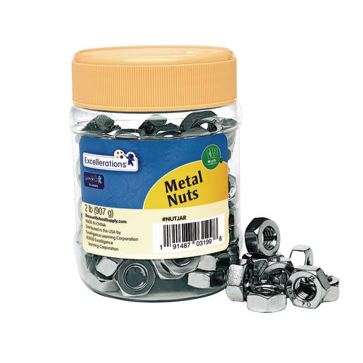 Image of Excellerations Metal Nuts - 2 lbs.