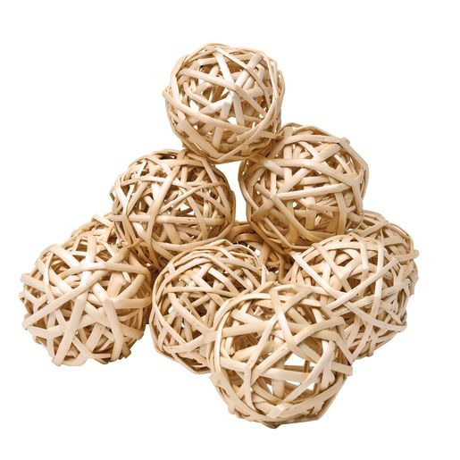 Image of Excellerations Wicker Balls - 10 Pieces