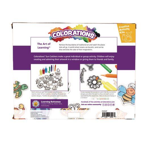 Colorations Window Art Suncatchers - Set of 16