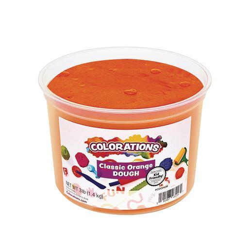 Image of Colorations Classic Colors Best Value Dough - Orange - 3 lbs.