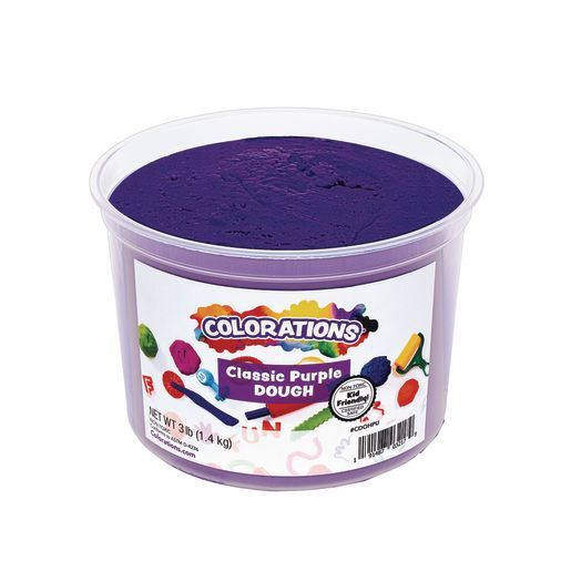 Image of Colorations Classic Colors Best Value Dough - Purple - 3 lbs.