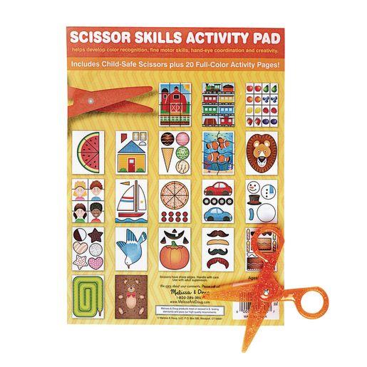 Melissa & Doug Scissor Skills Activity Pad with Scissors - Set of 3