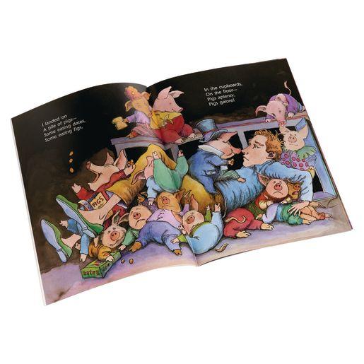 Pigs Aplenty, Pigs Galore! Paperback Book_1
