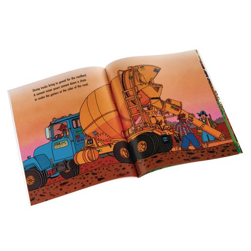 Road Builders Paperback Book_1