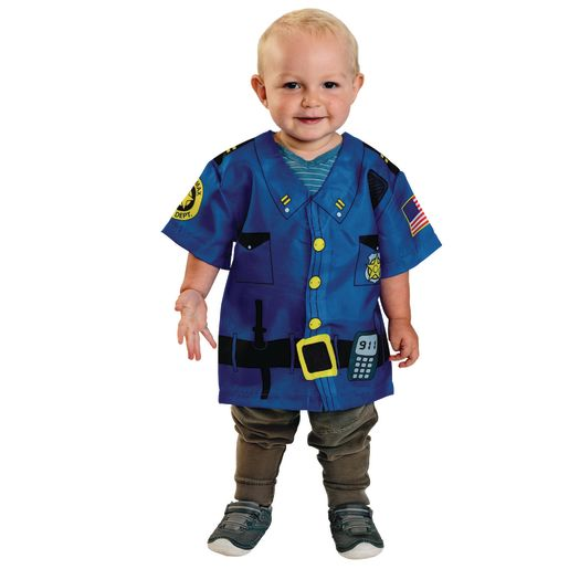 Image of Toddler Career Costume- Police Officer