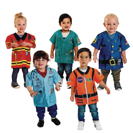 Toddler Career Costumes Set of All 5