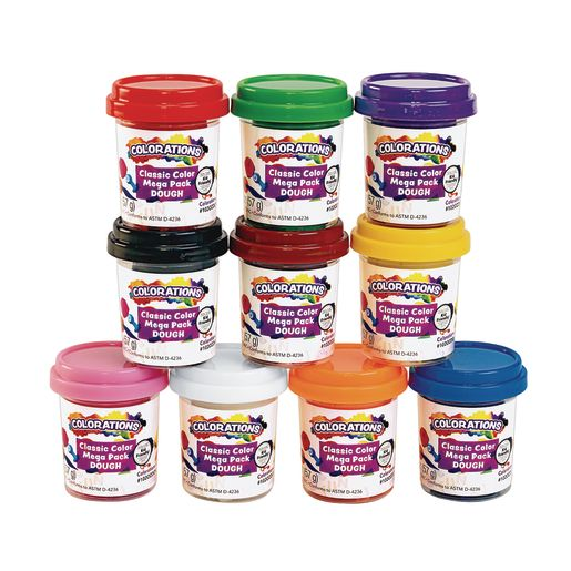 Image of Colorations Classic 10 Colors of Dough, 2 oz each