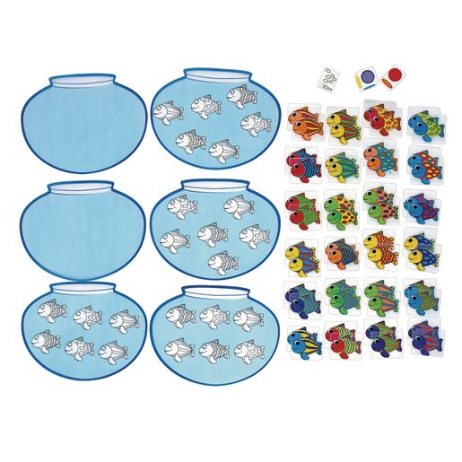 Excellerations® Fishing for Attributes Activity Set